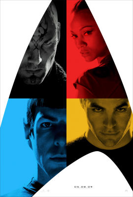 One of the amazing Star Trek movie posters