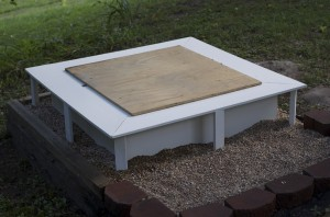 Sand Box With Lid