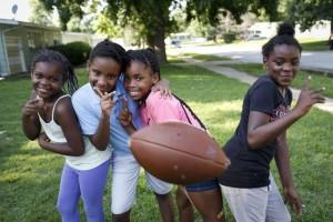 Jamyla, 9, left, gun fatality