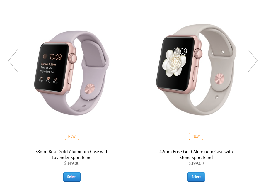 Snapped from Apple.com